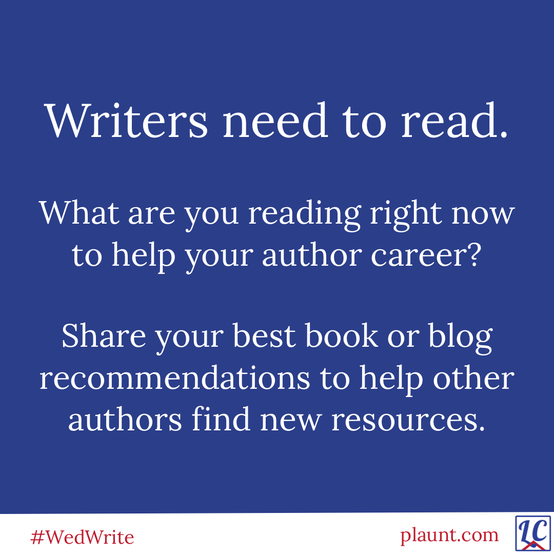 Writers need to read. What are you reading right now to help your author career? Share your best book of blog recommendations to help other authors find new resources.