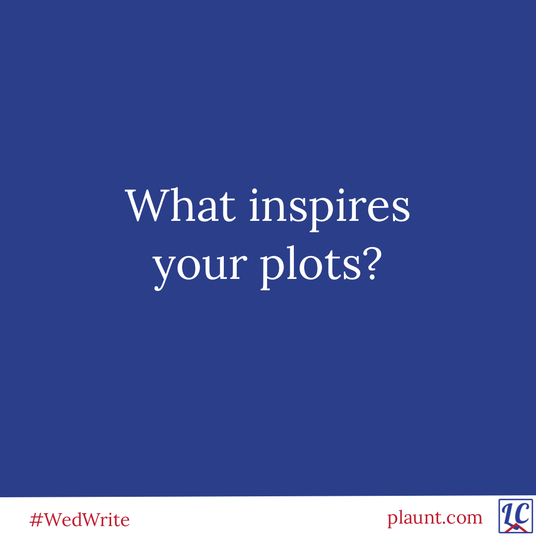 What inspires your plots?